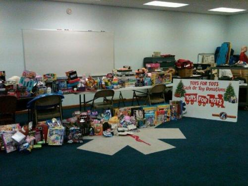 Toys-for-Tots Toy Drive